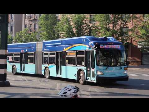 Exclusive! 2018 New Flyer XN60 Action on the Bx6 Select Bus Service