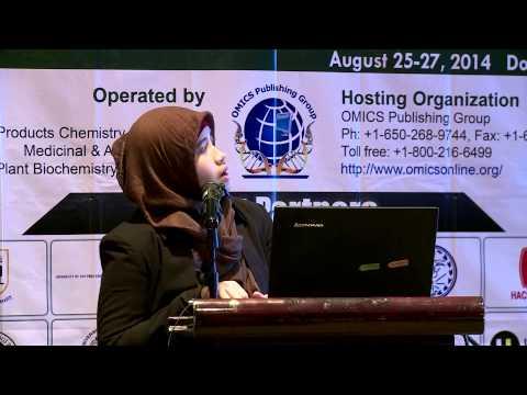 Elvira Hermawati| Bandung Institute of Technology | Indonesia | Pharmacognosy 2014 | OMICS