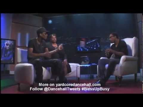 Busy Signal - Post Prison Onstage Interview (november 2012 dancehalltweets) video