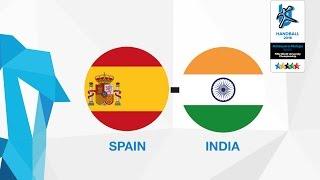 Испания : Индия