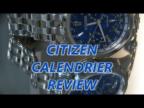 Citizen Eco-Drive Calendrier Review