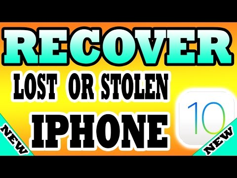 TRACK & Find Lost/Stolen iPhone 2017: No PC & NO FINDMYIPHONE APP