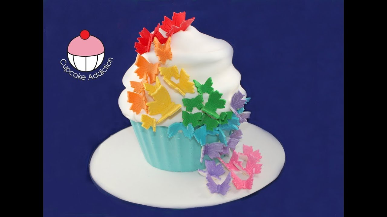Butterfly Designs For Cupcake Cakes