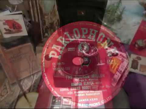 The Buchan Miller  George Elrick With Annie Shand Scott - Bothy Ballad - 78 rpm