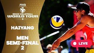 Haiyang 3-Star - 2018 FIVB Beach Volleyball World Tour - Men Semi Final 2