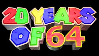 20 Years of 64 - paintings to celebrate Super Mario 64's 20th Anniversary