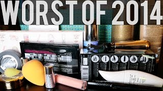 Worst Products of 2014 | Un-Favorties of the Year