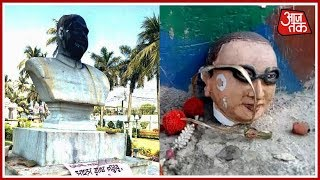 Shatak Aajtak: After Lenin Several Iconic Statues Vandalised Across The Nation