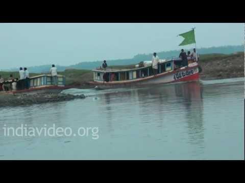 Boating  Krishna River  Andhra Pradesh