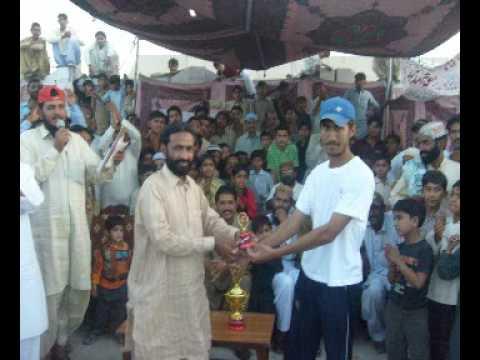 Shaheed Muhammad Shabir Zaqi Tap Ball Cricket Tournment High School Ground Khipro 3.flv video
