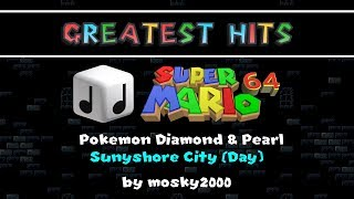 SMWC's Greatest Hits: Pokemon Diamond & Pearl - Sunyshore City (Day) [Super Mario 64]