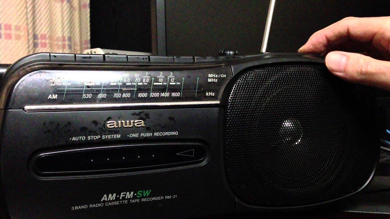 Aiwa Cassette Recorder Aiwa Cassette Recorder Rm-21