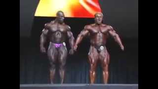 Финал мистер Олимпия. Jay Cutler VS Ronnie Coleman final Mr Olympia!