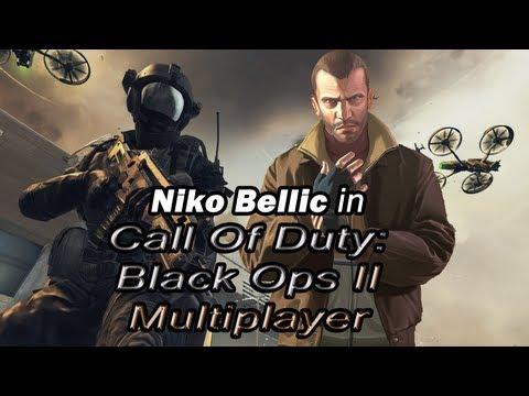 Как Нико Беллик играет в Call Of Duty: Black Ops II Multiplayer