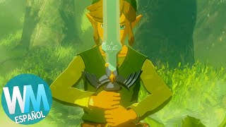 ¡Top 10 ARMAS en LEGEND OF ZELDA!