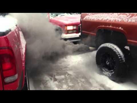 Dodge Cummins 12 Valve Cold Start