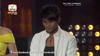 The Voice Cambodia - Live Show 1 - ទឹកចិត្តកូនប្រុស - អឿម រុន