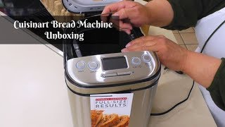 Cuisinart Bread Machine Unboxing BMKR-220PC ~ Bread Maker ~What's Up Wednesday ~ Amy Learns to Cook