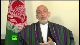 'US bombing harming civilians, not stopping terrorists' – Hamid Karzai