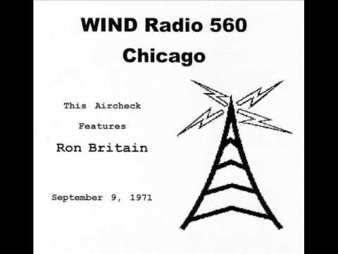 WIND Radio Chicago Ron Britain Aircheck 1971