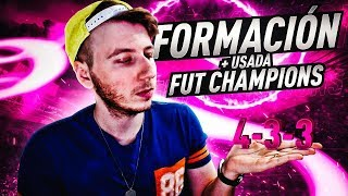 FIFA 19 La Nueva Formacion MAS USADA En Fut Champions - Con Sus Mejores Tacticas e Instrucciones
