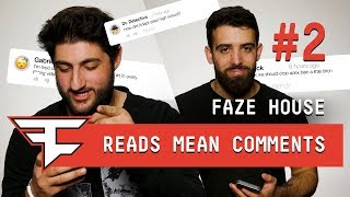 FaZe Clan Read Mean Comments PART 2!