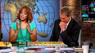 CBS This Morning: Jay McInerney on his love of wine