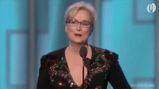Meryl Streep goes after Donald Trump at Golden Globes 2017