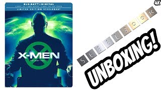 X-MEN TRILOGY VOL 1 (Steelbook) Unboxing and Review With Commentary
