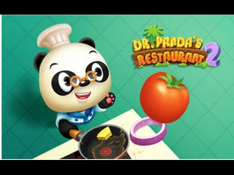 Dr. Panda's Restaurant 2 - Best iPad app demo for kids