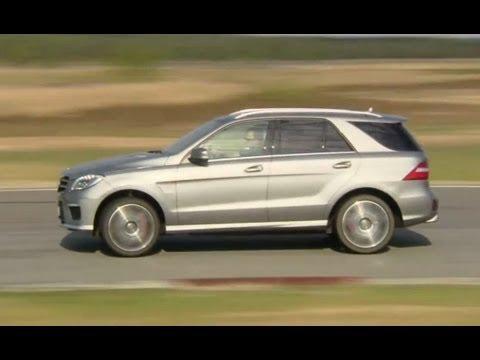 Einzeltest Mercedes ML 63 AMG