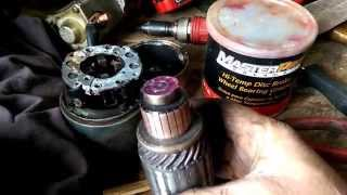 RE-GREASING sealed BEARINGS  it can be done