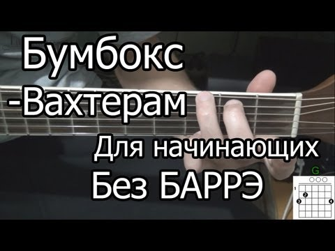 Уроки песен на гитаре - видео