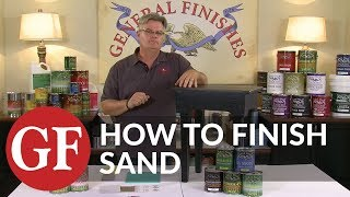 How to Finish Sand