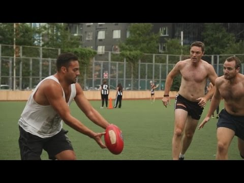 Australian Sport Gains Popularity in the U.S. | ABC News