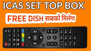 DD Freedish ICAS Set Top Box Launching, Info About Whats In It  DTH Update