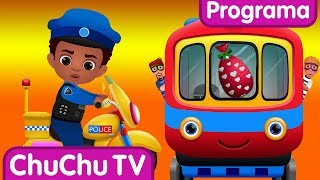 ChuChu TV Huevos Sorpresas de Policías – Episodio 06 - La Huida en Tren | ChuChu TV Sorpresa