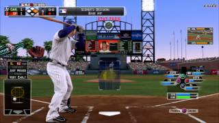 MLB 13 The Show: Oakland Athletics vs San Fransisco Giants