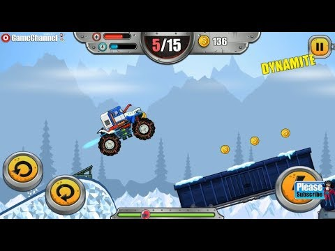 Monster Wheels Kings of Crash - 4x4 Monster Truck Racing - Android Gameplay Video #2