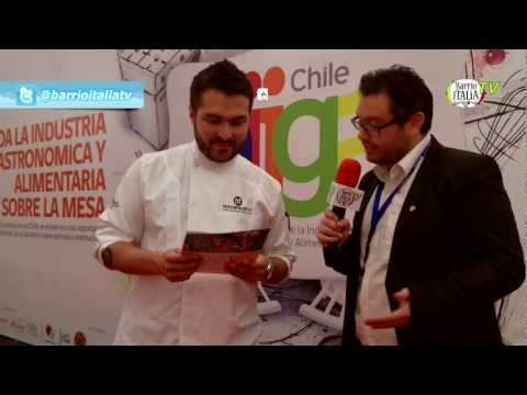Encuentro gastronmico internacional en Chile - Chef Giacomo Bocchio