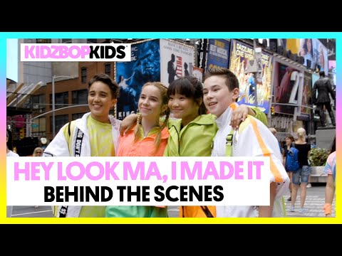 KIDZ BOP Kids - Hey Look Ma, I Made It (Official Music Video)