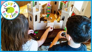 We Make the Coolest Cardboard Castle EVER! FOR A MONKEY?!