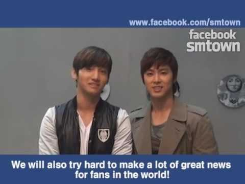 FACEBOOK SMTOWN OPEN INTERVIEW.(BY TVXQ!)