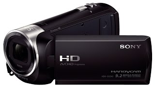 Sony HDR-CX240E Camcorder filmbeelden / Footage by Sony HDR-CX240E Camcorder
