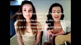Watch Megan  Liz Goodbye With Hello video