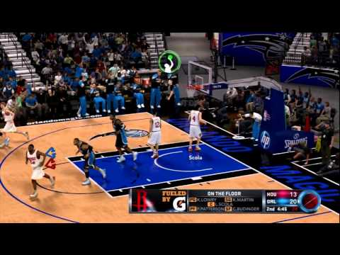 NBA 2K12 Sibling Rivalry: Houston Rockets vs Orlando Magic