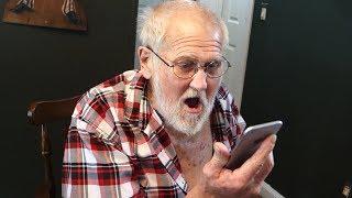 JIMMY KIMMEL CALLS GRANDPA!! (PRANK)