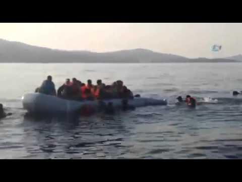 Greek coast guard accused of sinking migrants boat in August