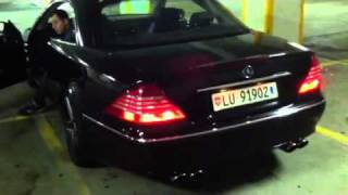 Mercedes-Benz CL 5oo C215 AMAZING Exhaust AMG Performance