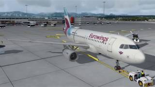 Flight Sim - Spain's Islands - Palma De Mallorca to Barcelona - Airbus A319